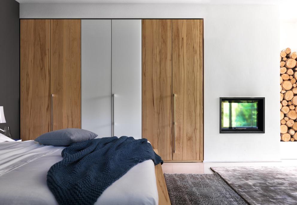 kleiderschrank lunetto team 7 wohnwiese jette schlund. Black Bedroom Furniture Sets. Home Design Ideas