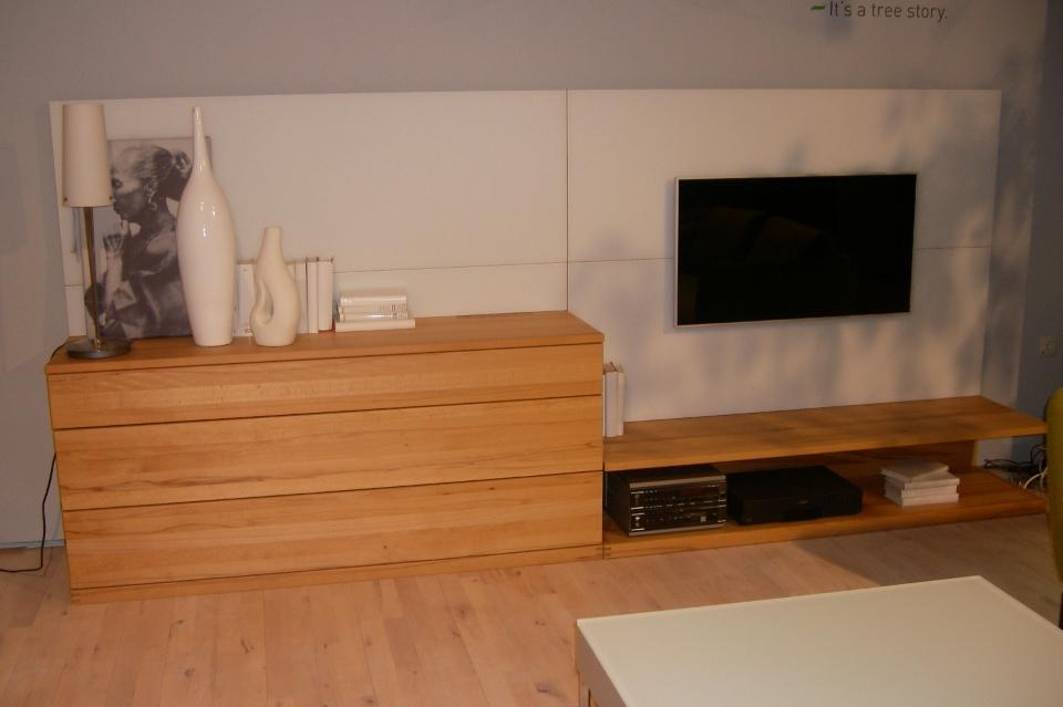 team7 wohnwand cubus wohnwiese jette schlund ellingen. Black Bedroom Furniture Sets. Home Design Ideas