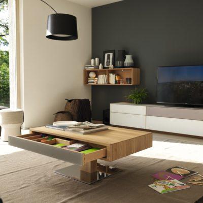 couchtisch lift team 7 wohnwiese jette schlund ellingen. Black Bedroom Furniture Sets. Home Design Ideas