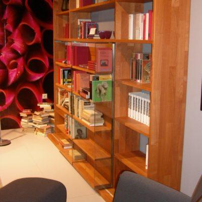 Bibliothekswohnwand Cubus