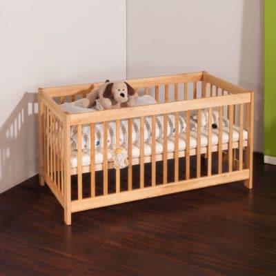 Erle-Massivholz Kinderbett BeneVita