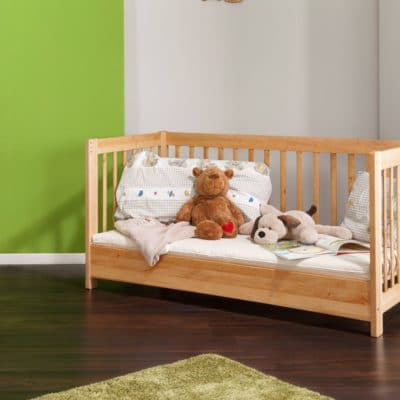 Kinder-Massivholz Sofa BeneVita, Umbauvariante zu Kinderbett BeneVita