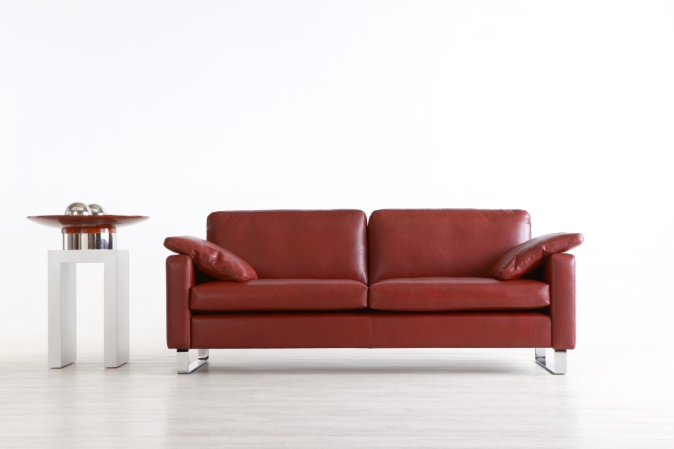 Sofa-Design Oliver-Leder glatt-Vio1-Wohnwiese